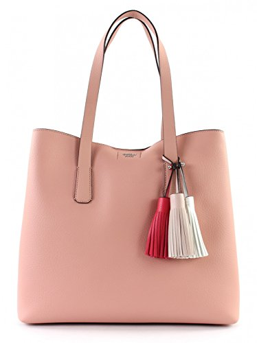 Guess Damen Bags Hobo Schultertasche, Pink (Rose), 12.5x33.5x39 centimeters (Hobo Taschen Guess)