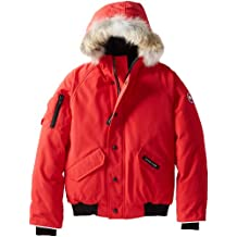 Canada Goose Youth Rundle Bomber, Ragazzi, Red, S