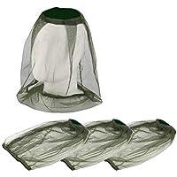 Lezed Moskito Kappe Imkerhut Kopfnetz Anti Moskito Maske Kopfschutz Nackenschutz NetzHut