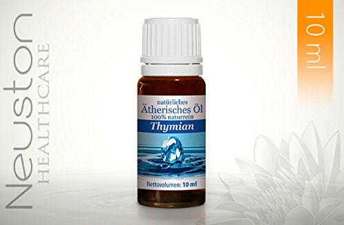 Neuston Thymian - 100% naturreines ätherisches Öl, 10 ml