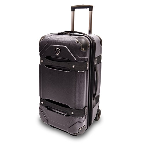 travelers-choice-24-100-polycarbonate-hardside-rolling-trunk-luggage-black