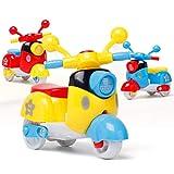 happy event Mini Motorrad Spielzeug | Zurückziehen Diecast Motorrad | Frühe Modell Lernspielzeug