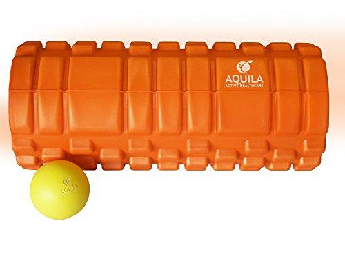 Foam Roller - Rullo massaggiante arancione ad