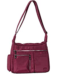 Lug Double Dutch Cross-body Bag, Brushed Red Cross Body Bag