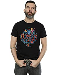 Disney Men's Coco Tree Pattern T-Shirt
