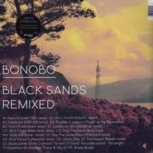 BLACK SANDS REMIXED LP (VINYL ALBUM) UK NINJA TUNE 2012
