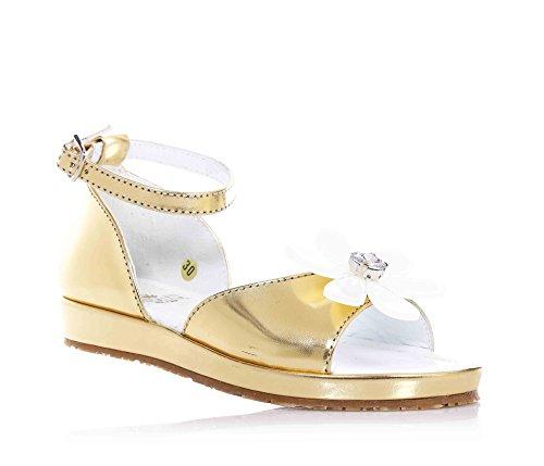 SAUSALITA - Sandalo dorato, Oro Bambina-35