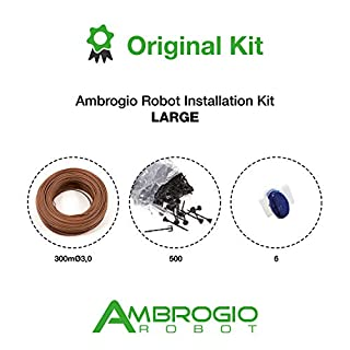 Ambrogio Robot Large Installation Kit (300mØ3.0 + 500 Nails + 6 Conn),