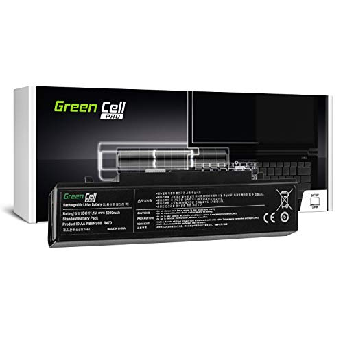 Green Cell Pro Serie Laptop Akku für Samsung RC510 RC520 RC530 RC710 RC720 RC730 RF510 RF511 RF710 RF711 (Original Samsung SDI Zellen, 6 Zellen, 5200mAh, Schwarz) - Pro Series Akku
