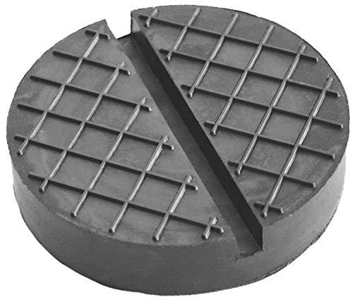 120x25mm mit Nut & Waffel Gummiauflage für Wagenheber und Hebebühnen
