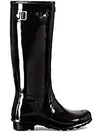 Hunter Original Tall Gloss, Botas de Lluvia para Mujer