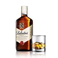 Ballantine's Whisky 1 Liter 1 Original Glass by BALLANTINE'S