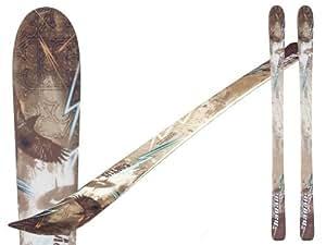 HAGAN CORVUS ski de randonnée freeride avec rocker 184