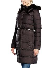 ADD Plumas Largo Down Coat Reversible Hood And Fur