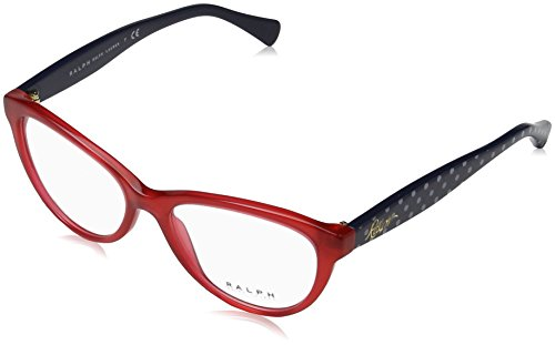 Ralph by Ralph Lauren - RA 7075, Schmetterling, Acetat, Damenbrillen, RED(3161), 52/16/140