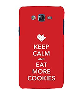 EPICCASE More cookies please Mobile Back Case Cover For Samsung Galaxy J5 (Designer Case)