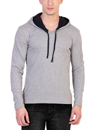Katso Men's Cotton Hooded T-Shirt