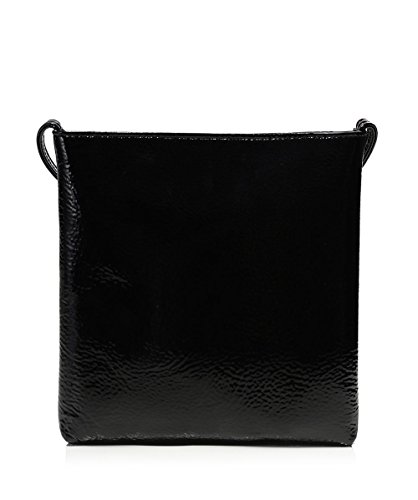 Vivienne Westwood Accessories Da Donna Borsa a tracolla di effetto vernice margate Nero Nero