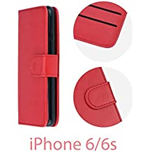 Kabura Twin - Funda con soporte horizontal para iPhone 6 / 6s - Rojo