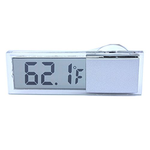 Mini Auto Raum Temperatur Innen Sucker LCD Digital Display Thermometer