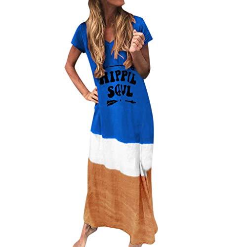 Vestito da elegante yu'ting ☀‿☀ girocollo casual slim mode maxi lunga abiti patchwork abito di colore solido da donna abiti al ginocchio da festa cocktail