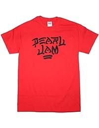 Pearl Jam 'Destroy' Red T-Shirt (Medium)