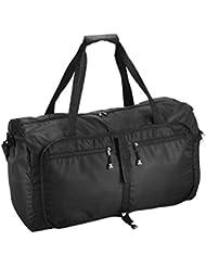 OMORC sac de Voyage 60L Portable sac Pliable Sac Multifonctionnel Sac Sport Extensible et Pliable Large Lightweight Luggage