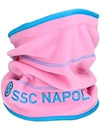 Scaldacollo uomo NAPOLI - ENZO CASTELLANO sciarpa tubolare in pile - Colore  rosa e88f564b6e78