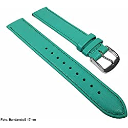 Miami Replacement Band Watch Band kalf nappa Strap turquoise 22562S, width:24mm