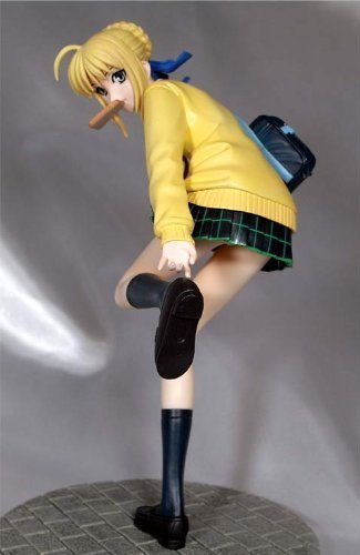 Fate/stay night?High School Girl Saber Hobby Japan Limited ver. [1/8 Scale PVC]