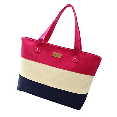 xy-fancy-damen-mehrfarbig-streifen-shopper-umhangetasche-handtasche-rose