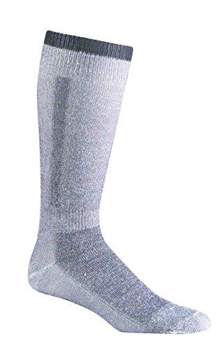 Fox River Snow Pack Over-The-Calf Merino Wolle Socken (2Pack), Unisex, schwarz