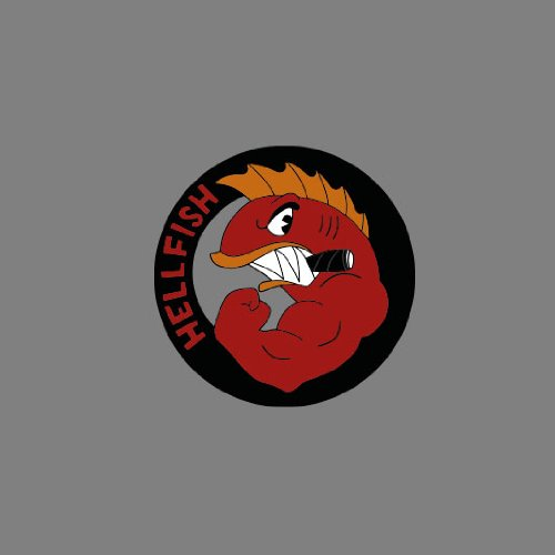 Hellfish - Stofftasche / Beutel Grün