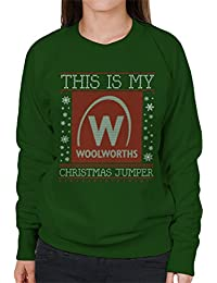 Coto7 This Is My Woolworths Christmas Jumper Womens Sweatshirt