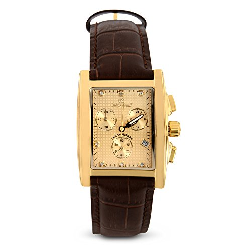 Oskar Emil Rodez Brown Leather - Orologio da polso