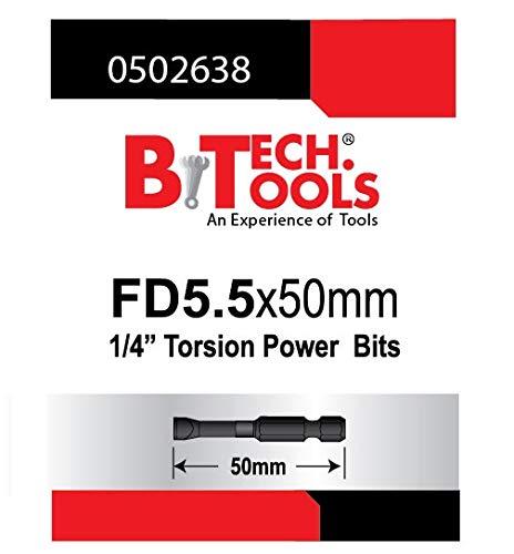 B.TECH TOOLS B. Tech 0502638 ACR Torsions-Bit, Schlitz, 5 cm