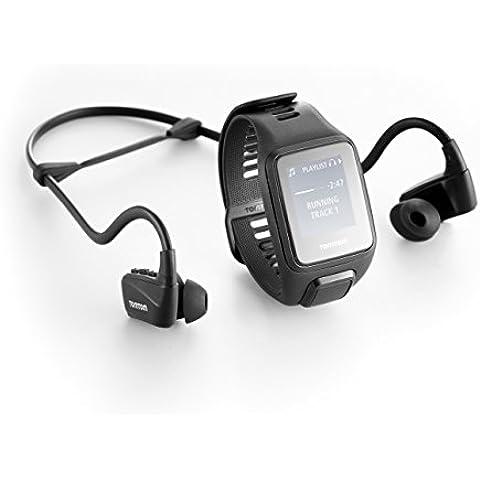 TomTom SPARK 3 Cardio+Music+Auricuares Reloj deportivo Negro (Talla pequeña)