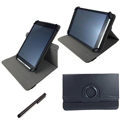 Aldi Medion Lifetab S10334 MD 98811 25,7 cm Metalgehäuse Tablet PC Tasche mit standfunktion - 360° drehbar Schwarz 10.1 Zoll