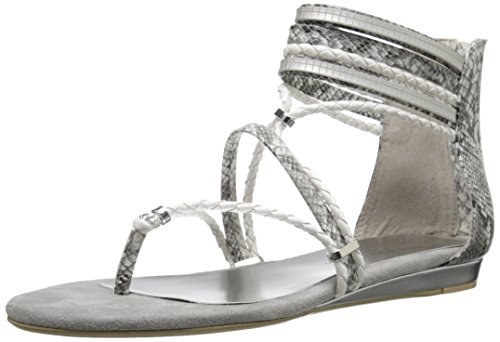 Very Volatile Larissa Damen Synthetik Gladiator Sandale White/Mutli