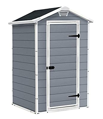 Keter Manor Shed - low-cost UK light store.