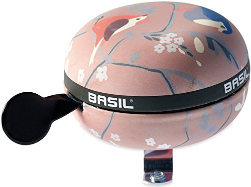 Basil Big Bell Wanderlust Fahrradklingel, Pink, 80 mm