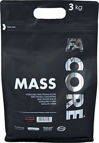 FA Nutrition Mass Core - 3kg -Vanille - Weight Gainer