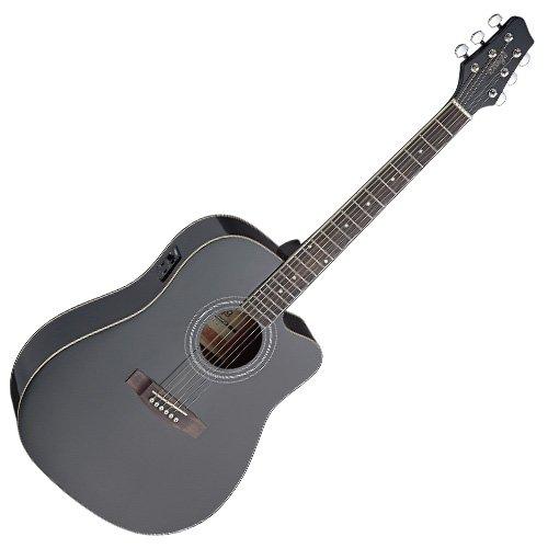 Stagg sa40dcfi - BK Guitarra Electroacústica