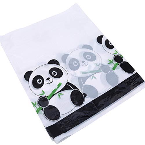 KYMLL Cartoon Panda Theme Tischdecke Geburtstagsfeier Tischdecke Party Supplies