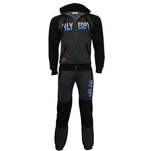 NHL da uomo alla moda tuta da ginnastica di hly Antracite - 2235