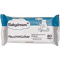 4 x 80 st Babydream Calendula Feuchtt/ücher mit Bio-Calendula 4er Pack