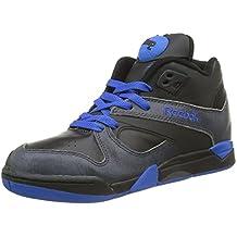 Reebok COURT VICTORY PUMP Zapatillas Negro Azul Cuero para Hombre