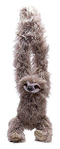 Wild Republic Europe - Peluche a forma di bradipo, da appendere, 51 cm