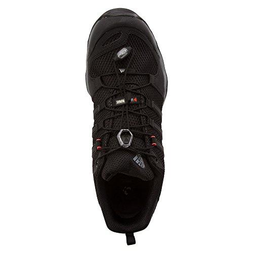 Adidas all'aperto Terrex Swift R escursioni con le racchette - Nero / Grigio vista / bianco 6 Vista Grey / Black / Solar Red