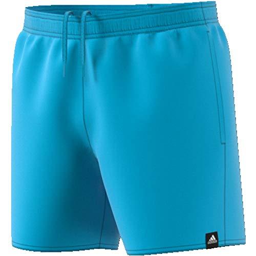 adidas Herren SOLID SH SL Swimsuit, Bright Cyan, L